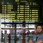 foto scattata aereoporto di madrid
